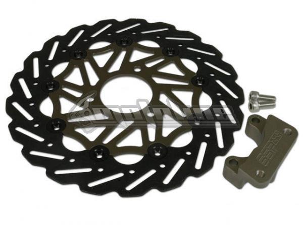 brake rotor stage6 wave oversize aprilia sr floating. Black Bedroom Furniture Sets. Home Design Ideas